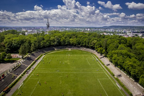 Football camps Cracow - the ground birdseye