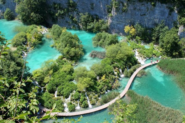 Football camps Croatia, the Plitvice Lakes